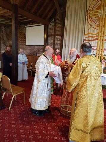 archbishop and deacon