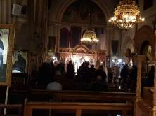 Worshipping together in the Church of St Demetrios
